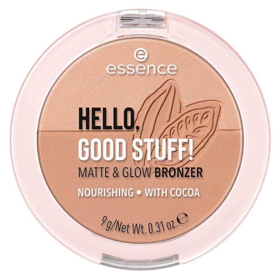 Essence Hello Good Stuff Matte & Glow Bronzer 10 9 g