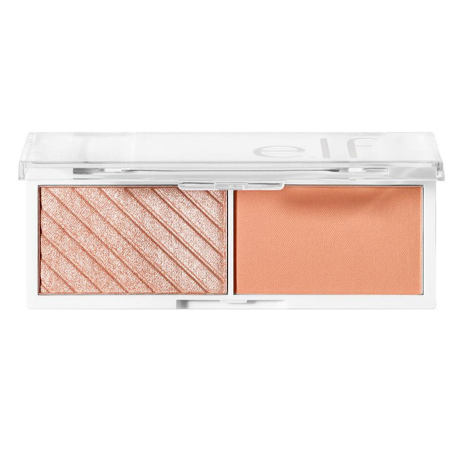 e.l.f. Cosmetics Bite-Size Face Duo White Peach 4,6 g