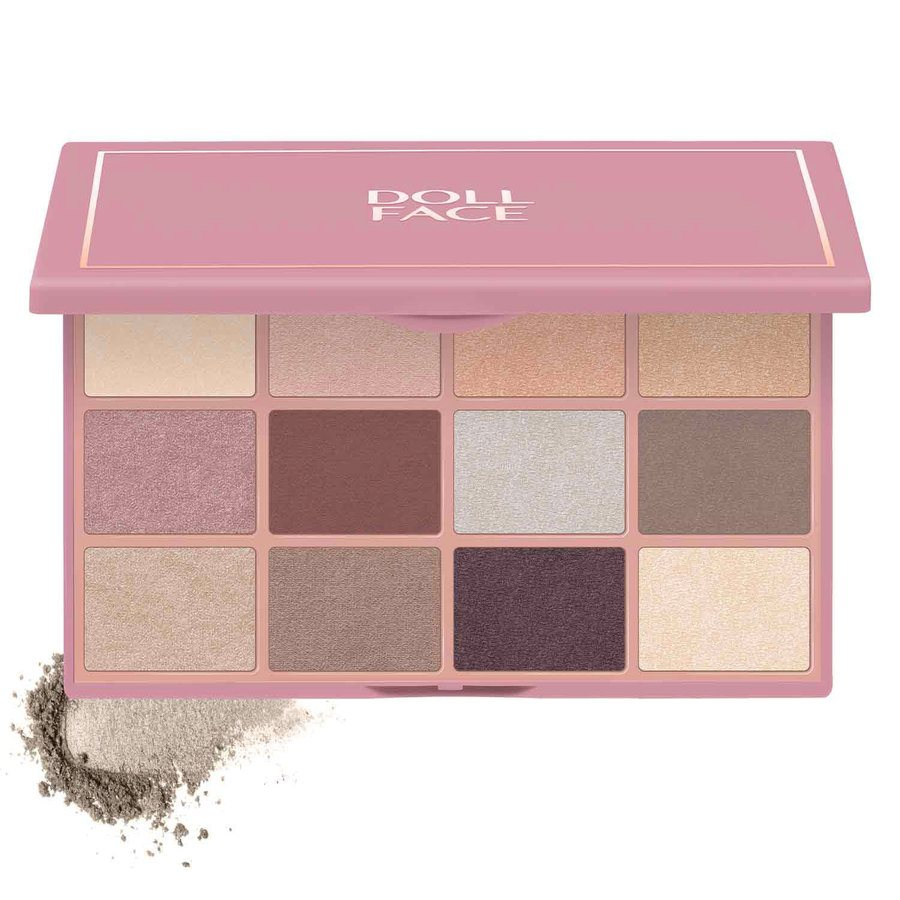 Doll Face Nudie Boudoir 12 Shade Shadow Collection 15 g