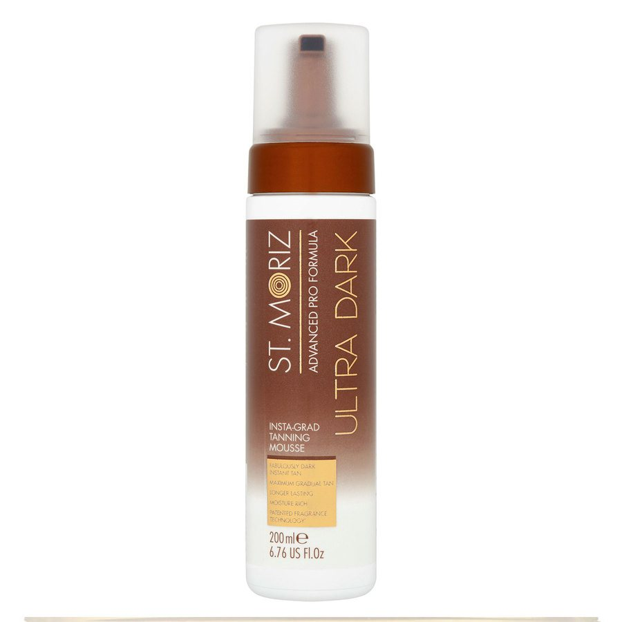 St. Moriz Advanced Pro Formula Ultra Dark Self Tanning Mousse 200ml