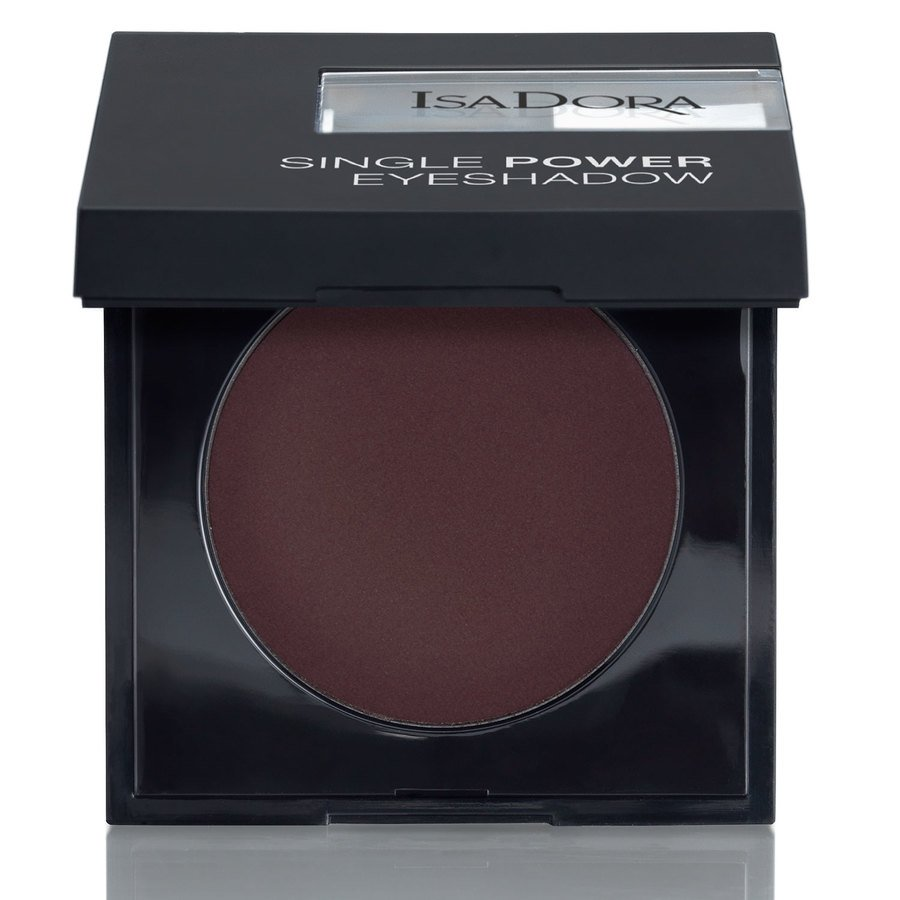 IsaDora Single Power Eyeshadow 04 Black Plum 2,2 g