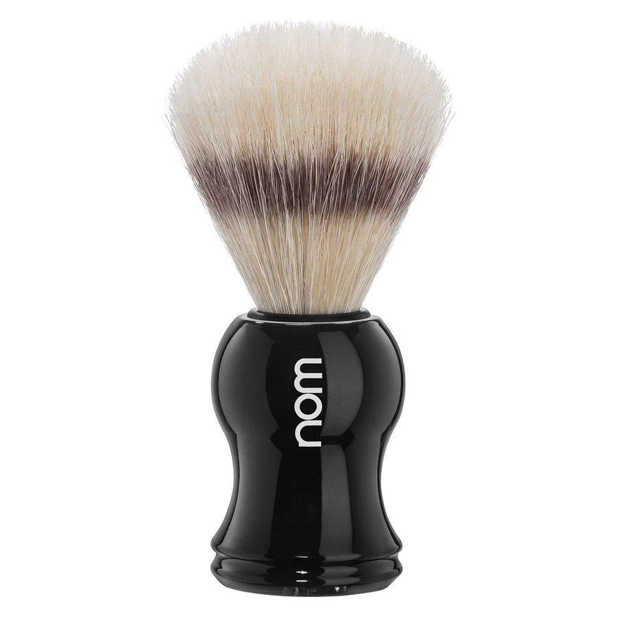 Nom Gustav Shaving Brush Pure Bristle Black