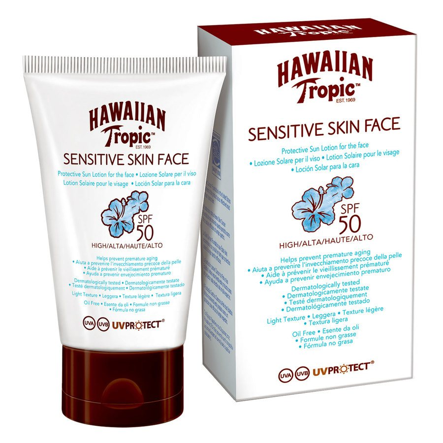 Hawaiian Tropic Sensitive Face Protective Lotion SPF50 60ml