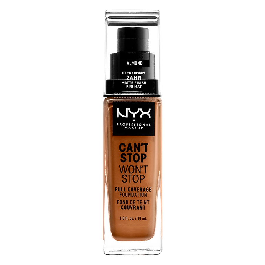 NYX Professional Makeup Can't Stop Won't Stop Full Coverage Foundation Almond 30 ml