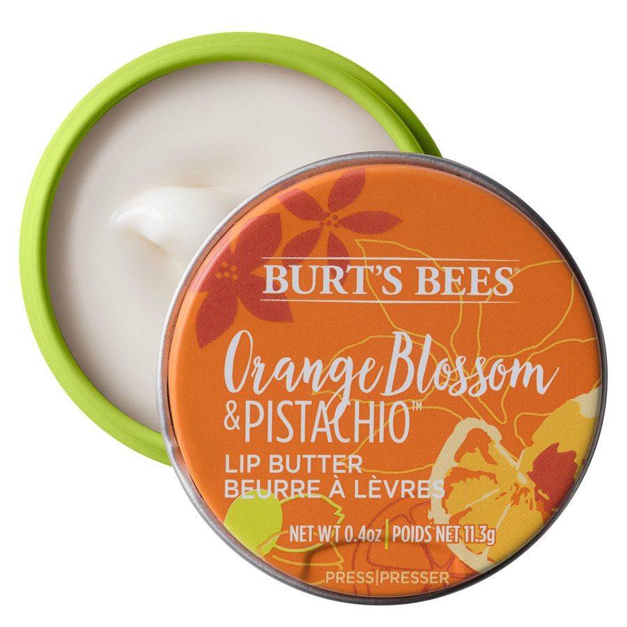 Burt's Bees® 100% Natural Origin Moisturising Lip Butter Orange Blossom & Pistachio 11,3 g
