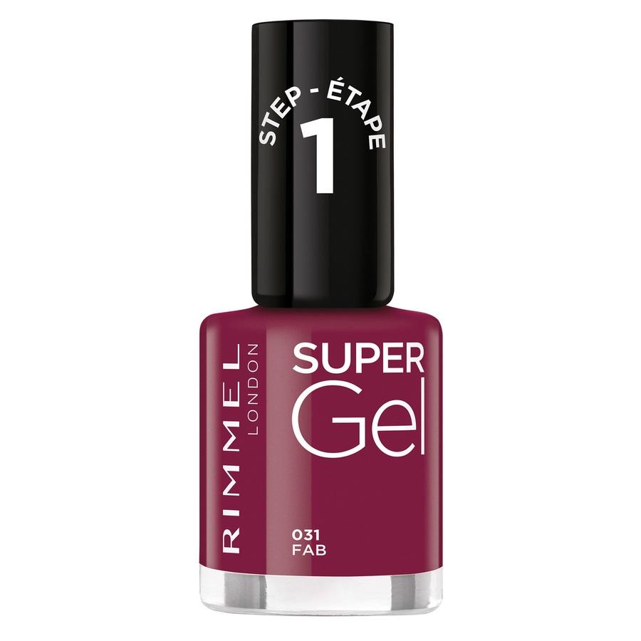 Rimmel London Super Gel Nail Polish 031 12ml