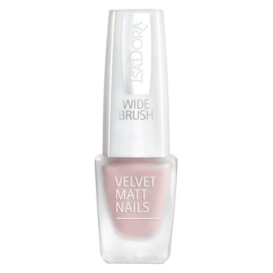 IsaDora Velvet Matt Nails #201 Silky Pink 6 ml