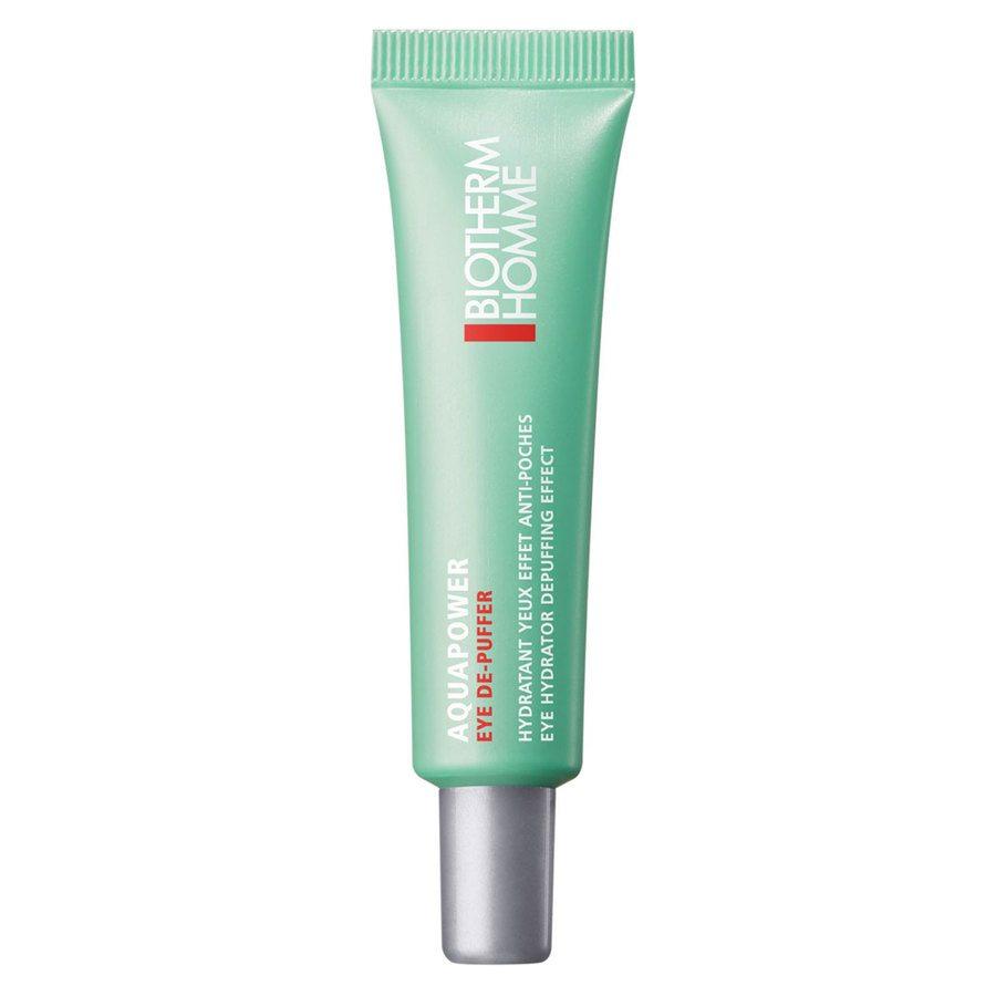 Biotherm Homme Aquapower Eye De-Puffer Cream 15 ml