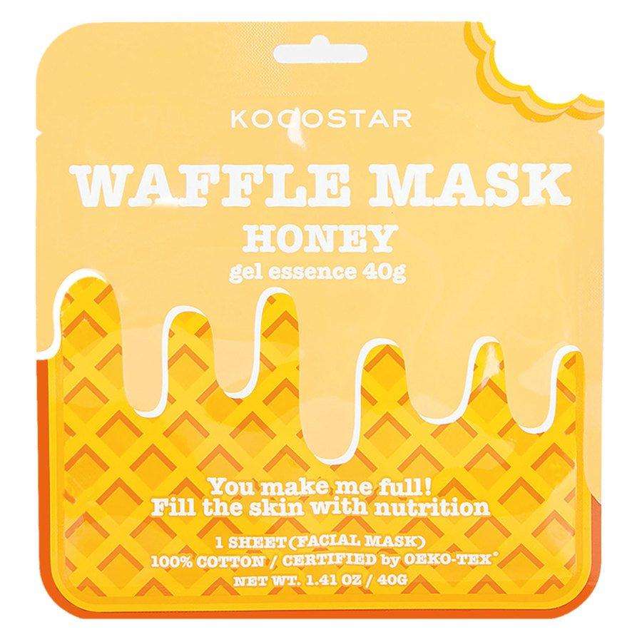 Kocostar Waffle Mask Honey 40 g