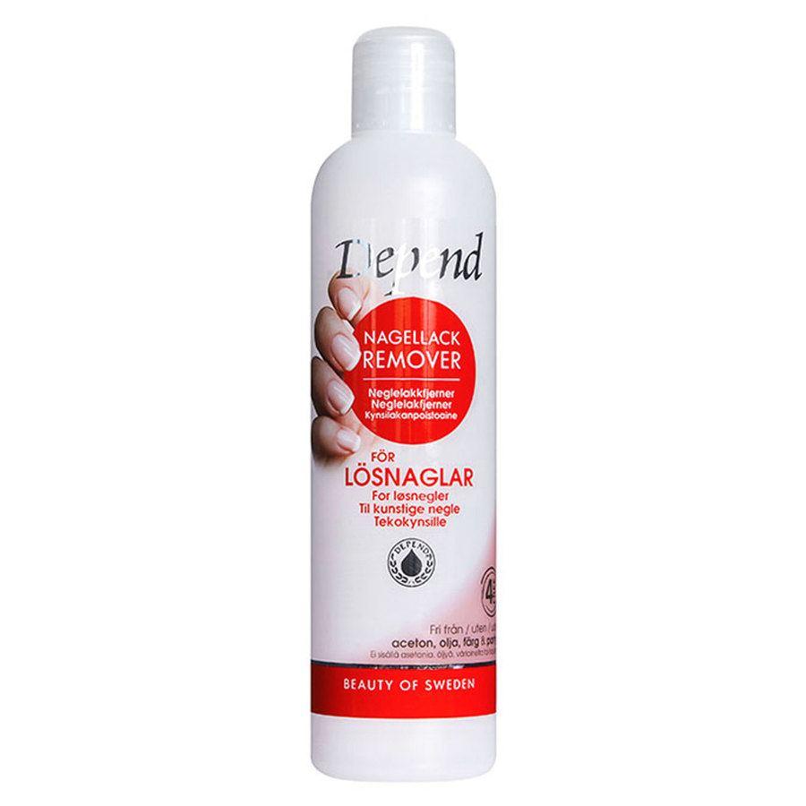 Depend Oil Free Nail Polish Remover 250 ml