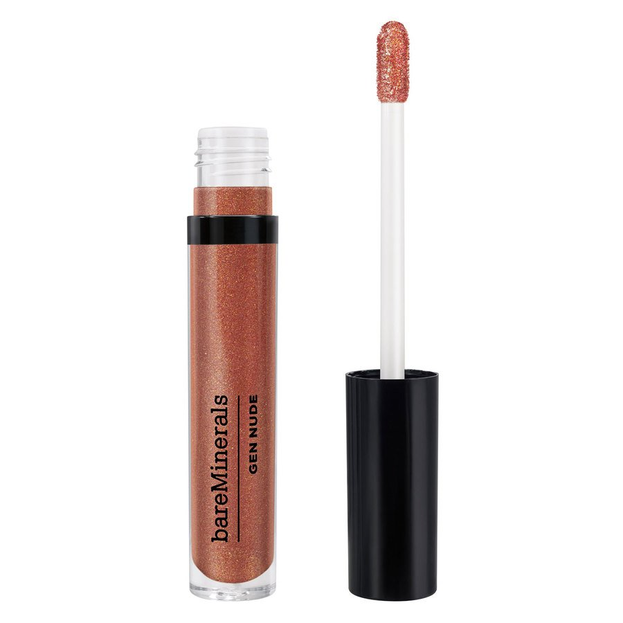 BareMinerals Gen Nude Metallic Patent Lip Lacquer Smoky Topaz 3,7 ml