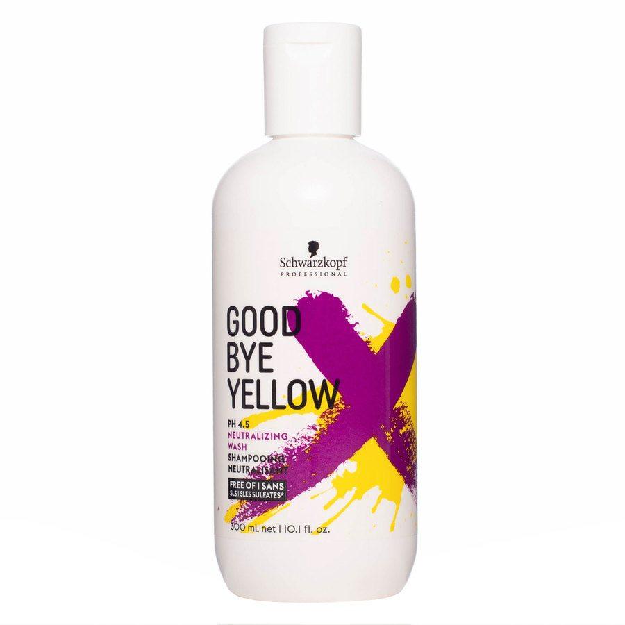 Schwarzkopf Goodbye Yellow Neutralizing Wash Shampoo 300 ml