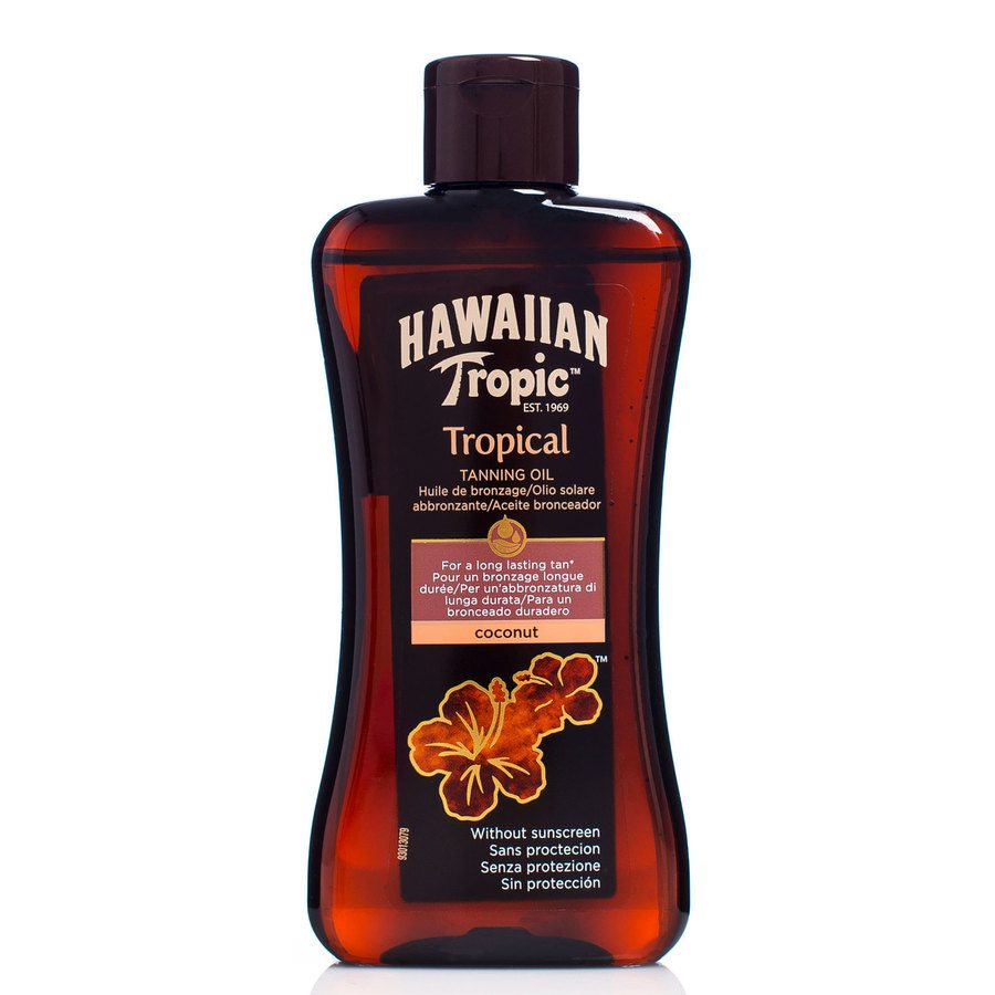 Hawaiian Tropic Tanning Oil Coconut 200ml
