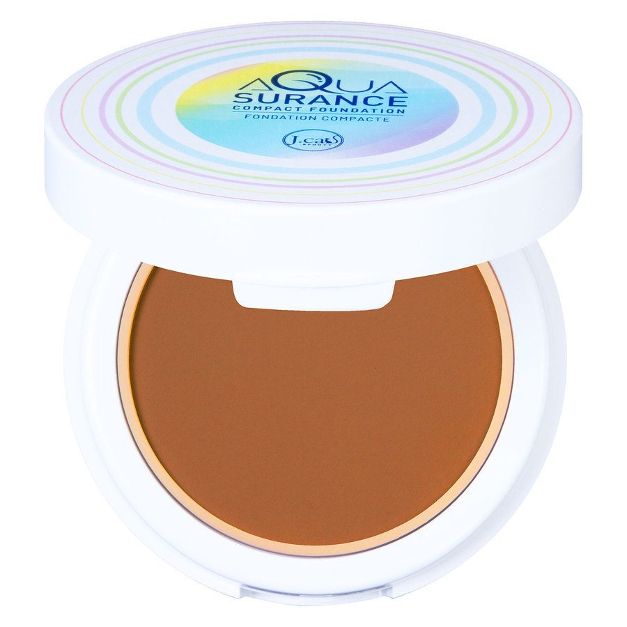 J.Cat Aquasurance Compact Foundation Caramel 9g