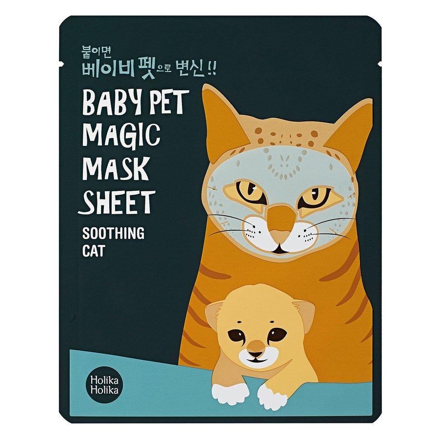 Holika Holika Baby Pet Magic Mask Sheet (Cat) 22ml