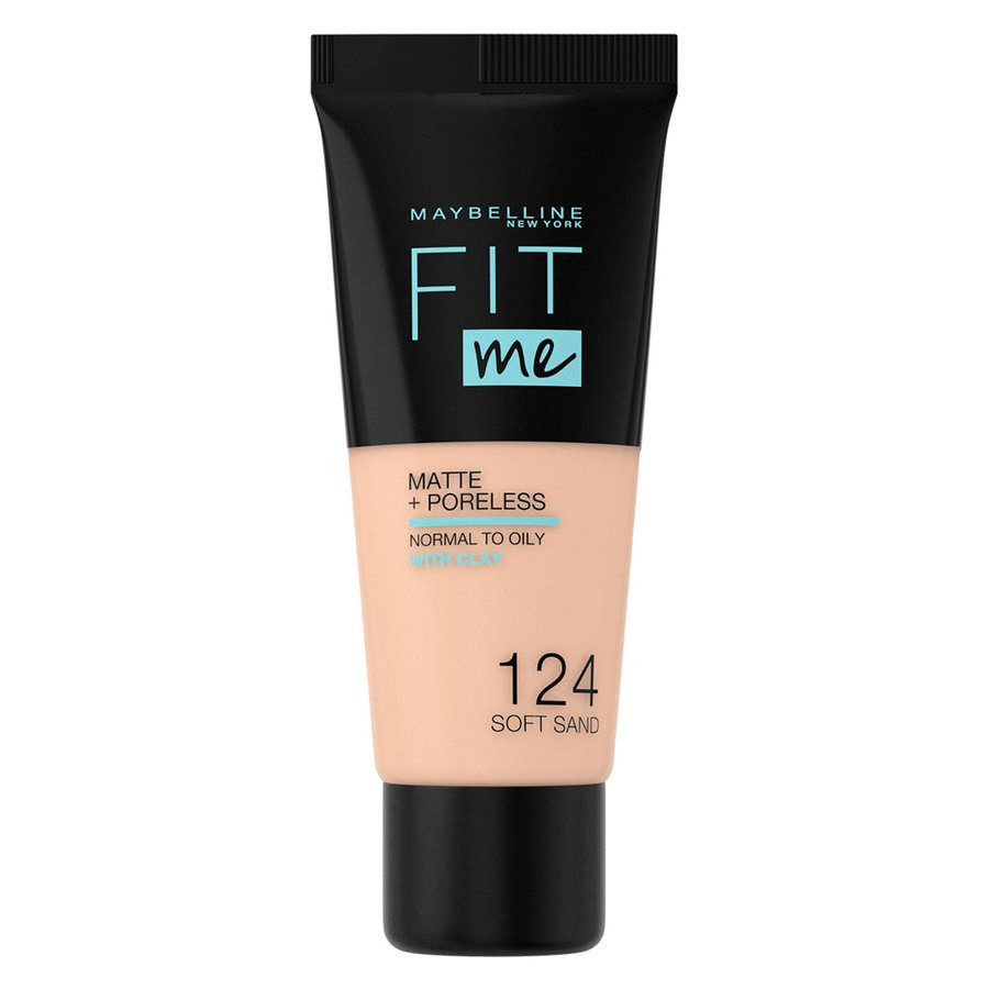 Maybelline Fit Me Makeup Matte + Poreless Foundation 124 30 ml Tube