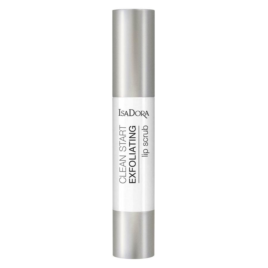 IsaDora Clean Start Exfoliating Lip Scrub 3,3 g