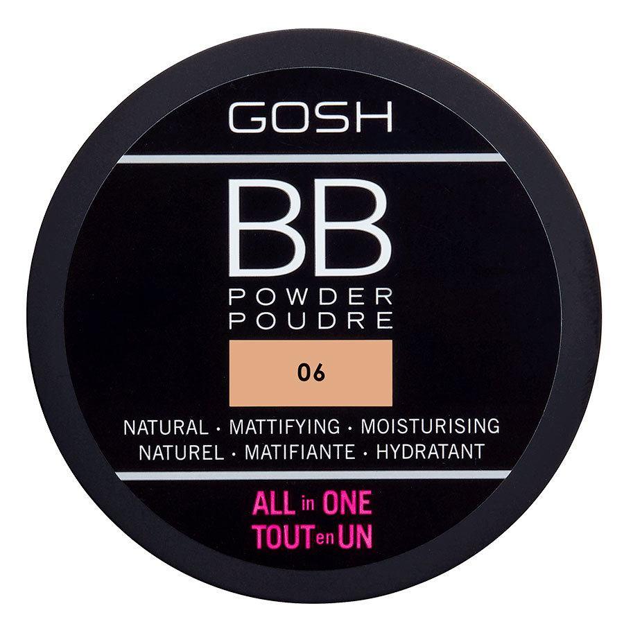 GOSH BB Powder #006 Warm Beige 6,5 g
