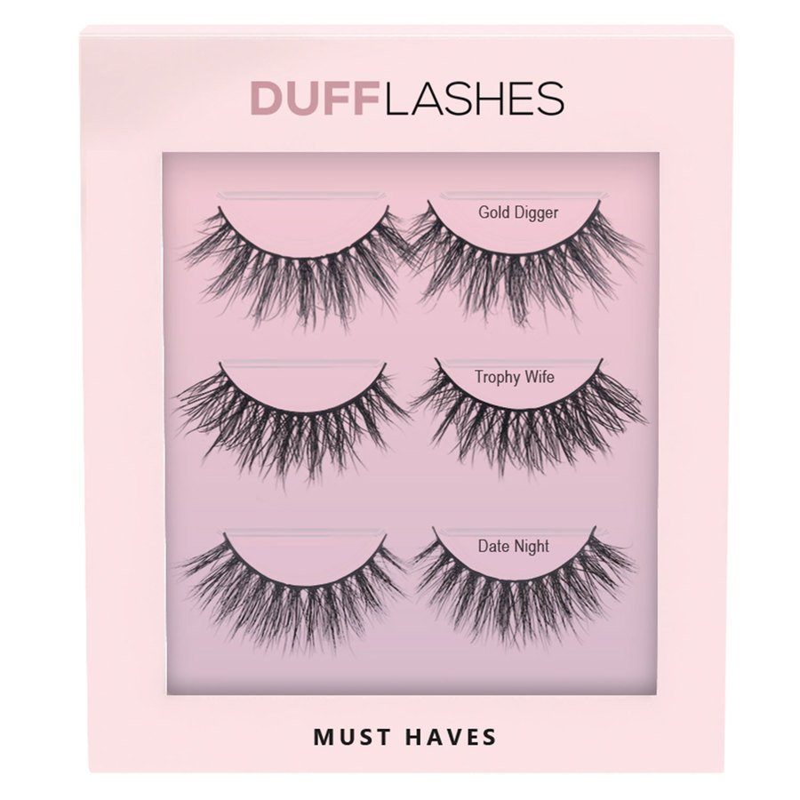 DUFFLashes Must Haves 3 st