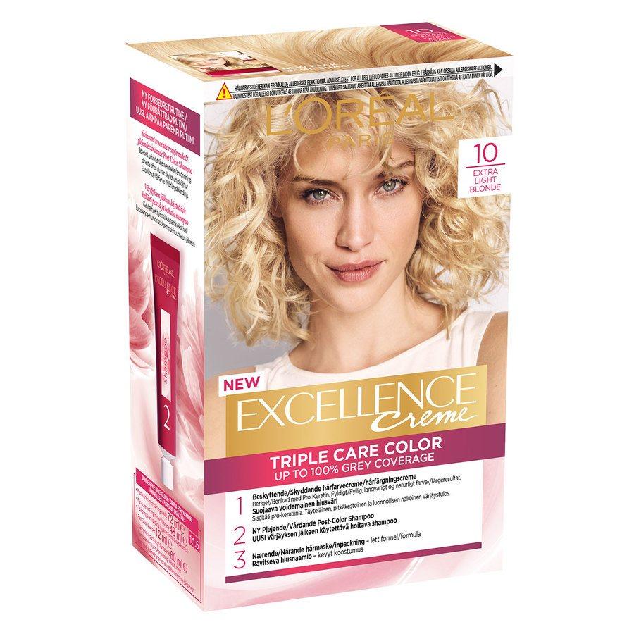 L'Oréal Paris Excellence Creme 10 Extra ljusblond