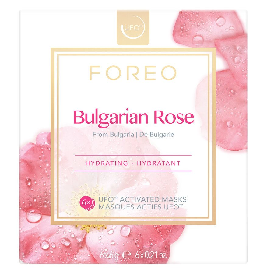 Foreo UFO Mask Bulgarian Rose 6 x 6 g