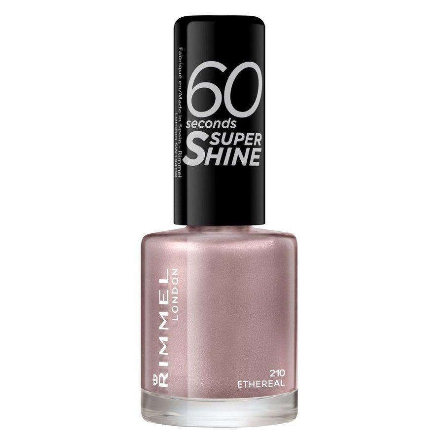 Rimmel London 60 Seconds Super Shine Nail Polish #210 Ethereal Nude 8ml