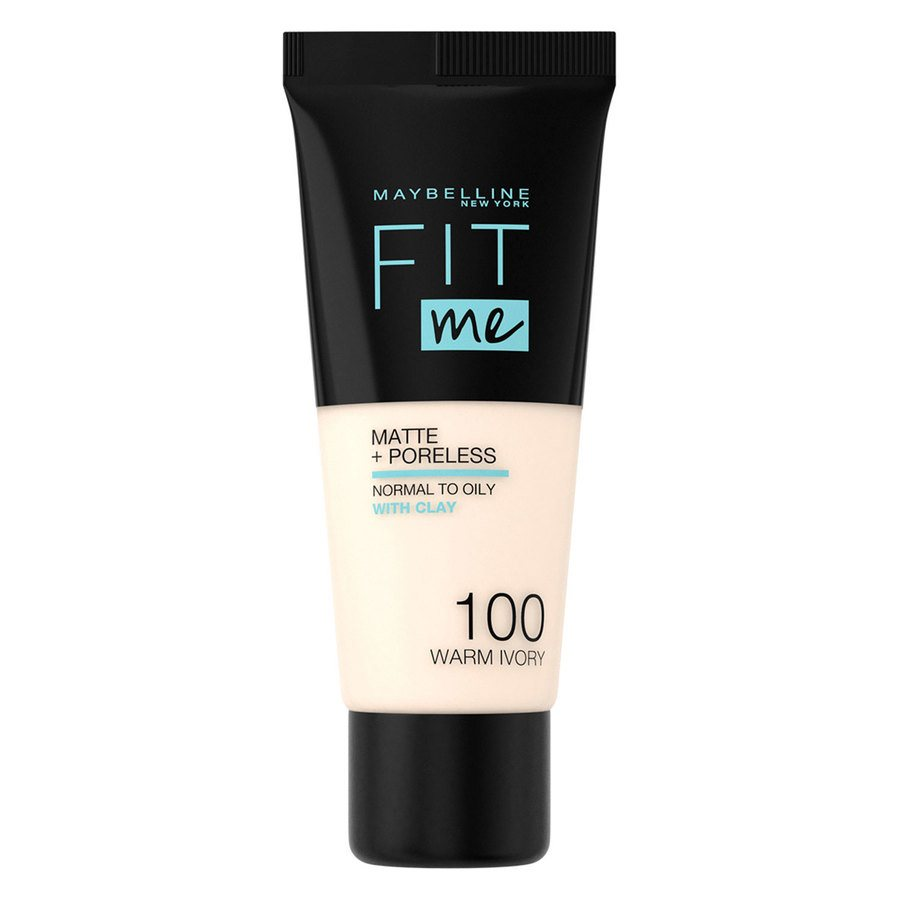 Maybelline Fit Me Makeup Matte + Poreless Foundation 100 30ml Tube