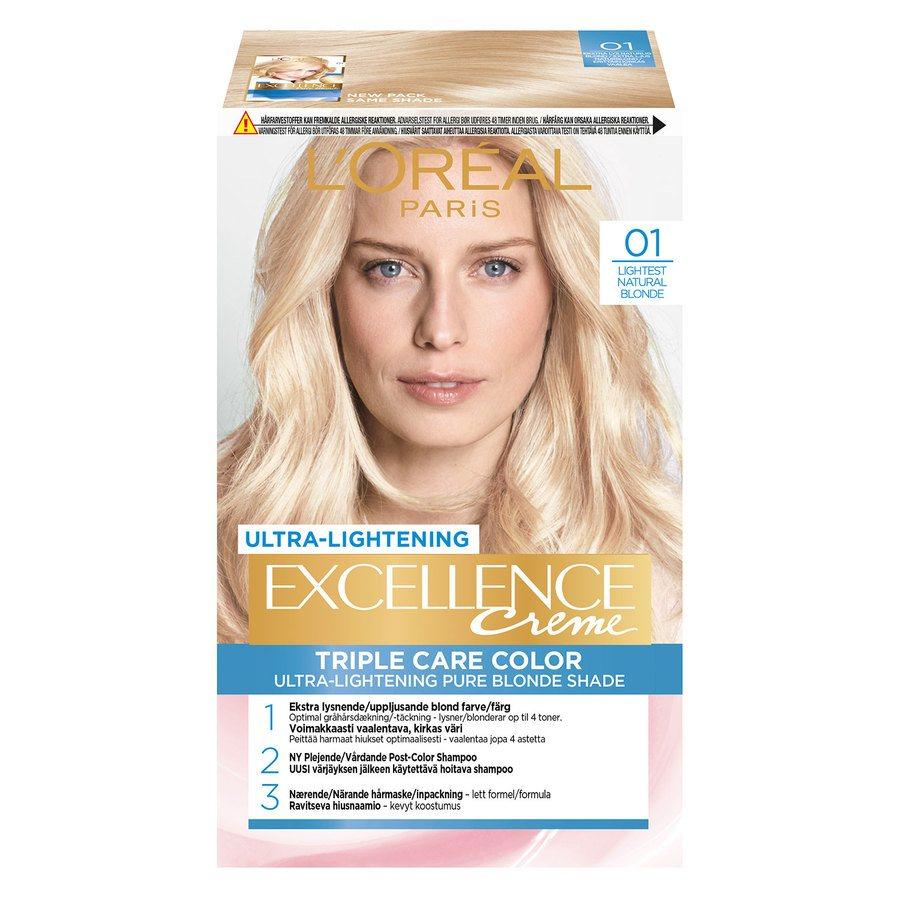 L'Oréal Paris Excellence Creme 01 Blonde Supreme Natural