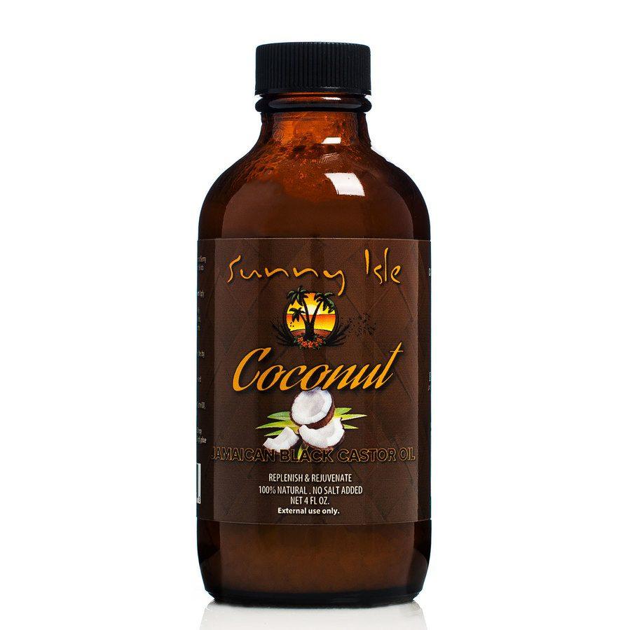 Sunny Isle  Castor Oil Coconut Jamaican Black 118ml