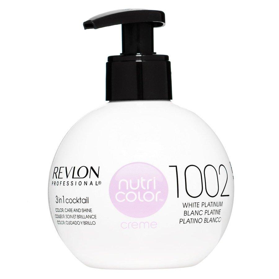 Revlon Professional Nutri Color Creme 270ml #1002 White Platinum