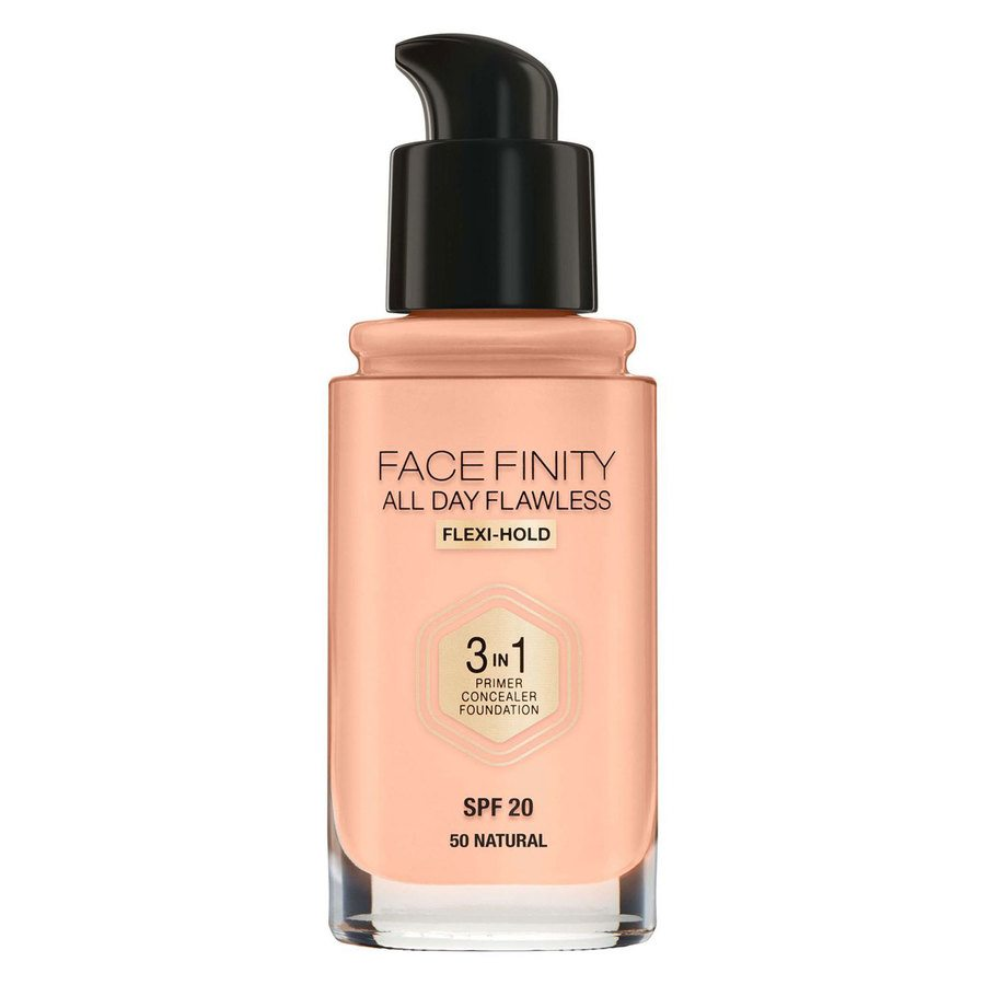 Max Factor Facefinity All Day Flawless 3-in-1 Foundation #50 Natural 30 ml