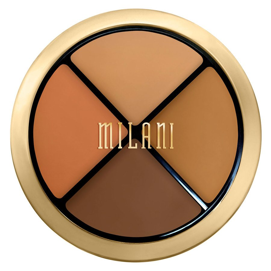 Milani Conceal + Perfect All In One Concealer Kit Dark To Deep 7,2 g