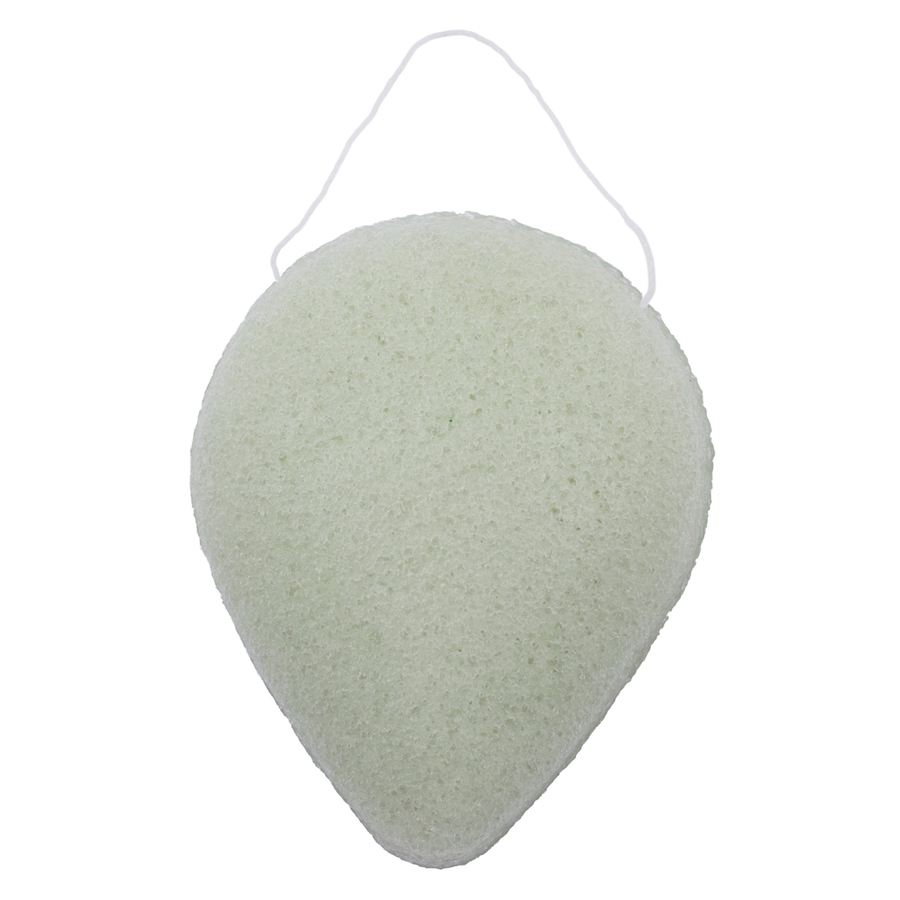 Brush Works Konjac Sponge Green Clay