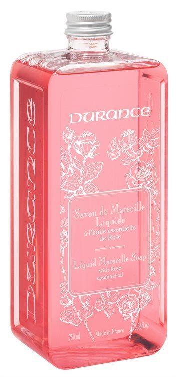 Durance Liquid Marseille Soap Rose 750ml