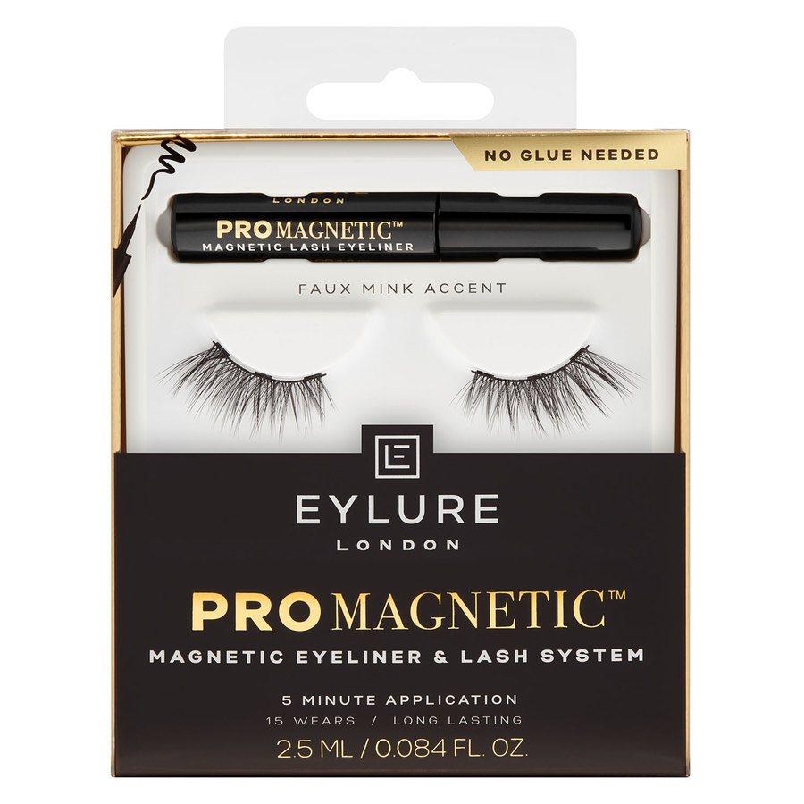 Eylure ProMagnetic Magnetic Eyeliner & Lash System Faux Mink Accent