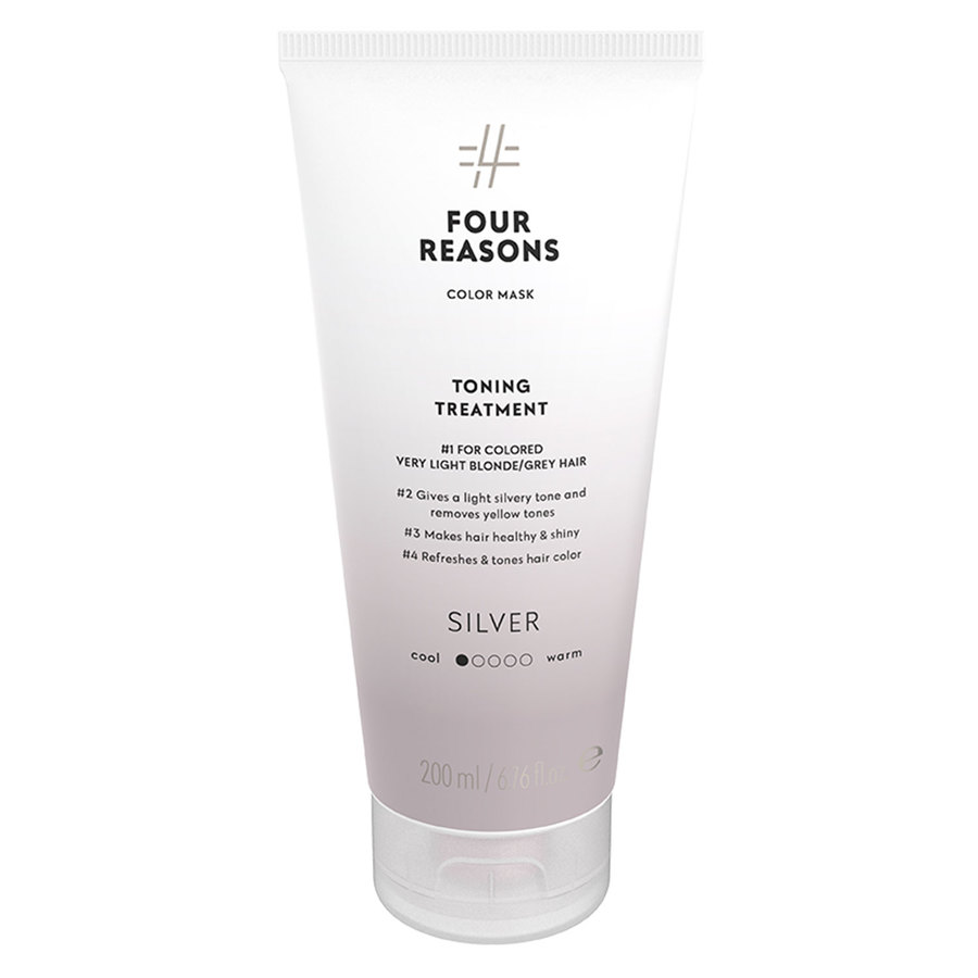 Four Reasons Color Mask Toning Treatment Silver 200 ml