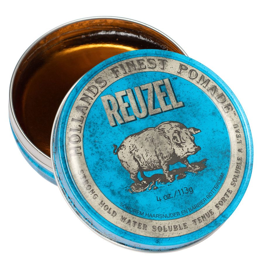 Reuzel Blue Strong Hold High Sheen Pomade 113 g