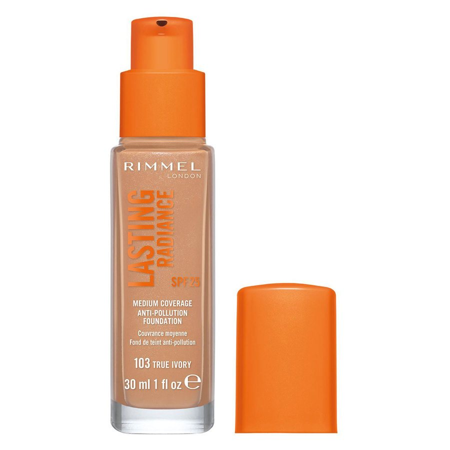 Rimmel London Lasting Radiance Foundation #103 True Ivory 30 ml