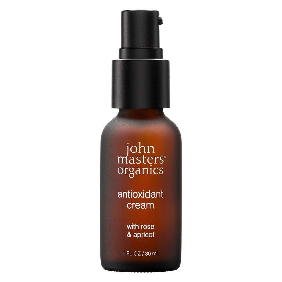 John Masters Organics Antioxidant Cream with Rose & Apricot 30 ml
