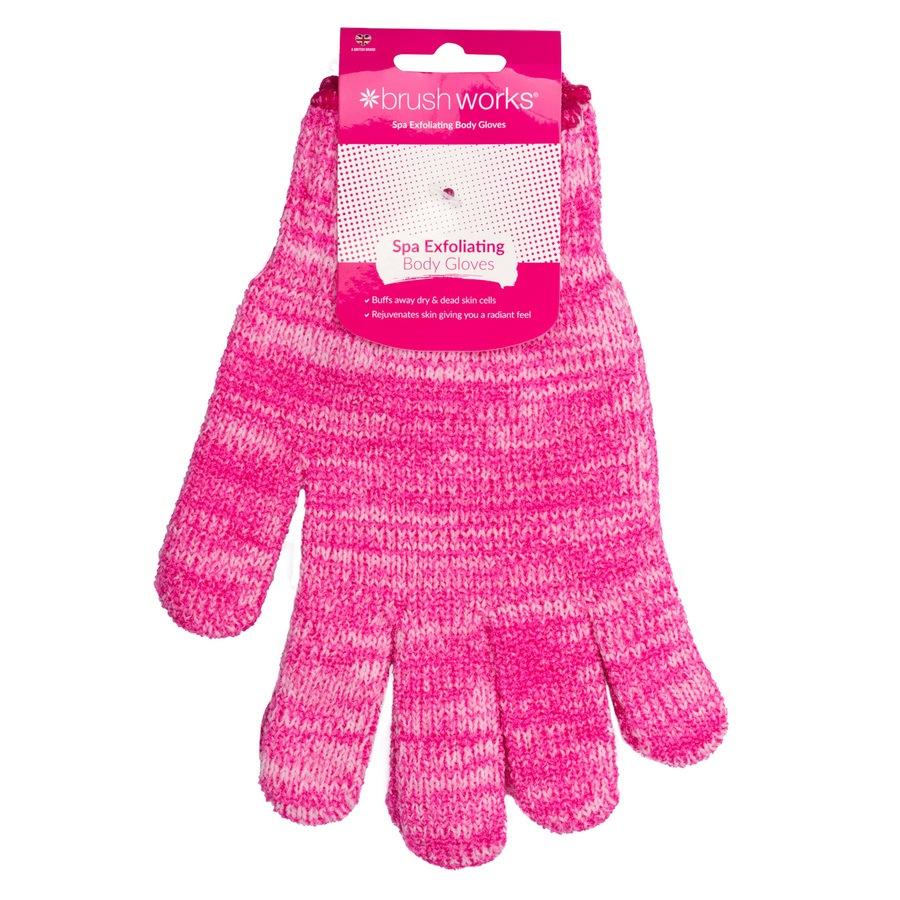 Brushworks Exfoliating Gloves
