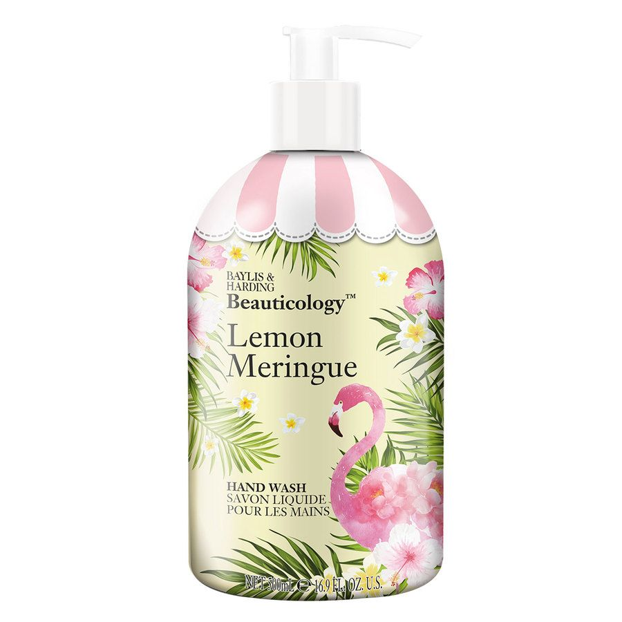 Baylis & Harding Beauticology Flamingo Lemon Meringue Hand Wash 500 ml