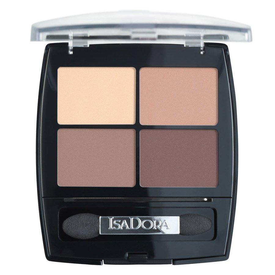 IsaDora Eyeshadow Quartet 44 Muddy Nudes 5g