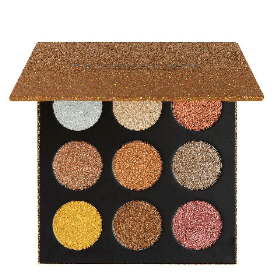 Makeup Revolution Euphoric Foil Eyeshadow Palette Sparkle Up 18,9 g