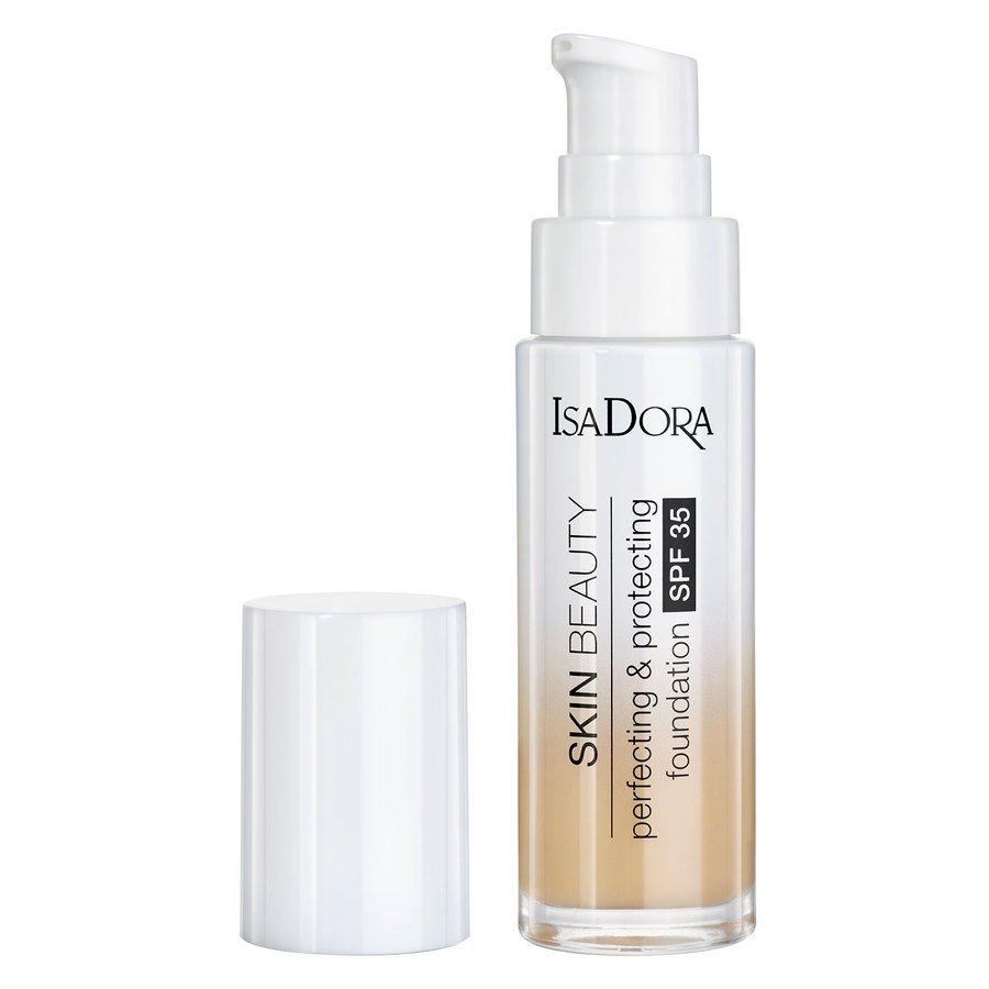 IsaDora Skin Beauty Perfecting & Protecting Foundation SPF35 05 Light Honey 30ml
