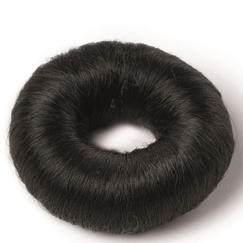 Hair Accessories Synthetic Hair Bun Small Black 73 mm