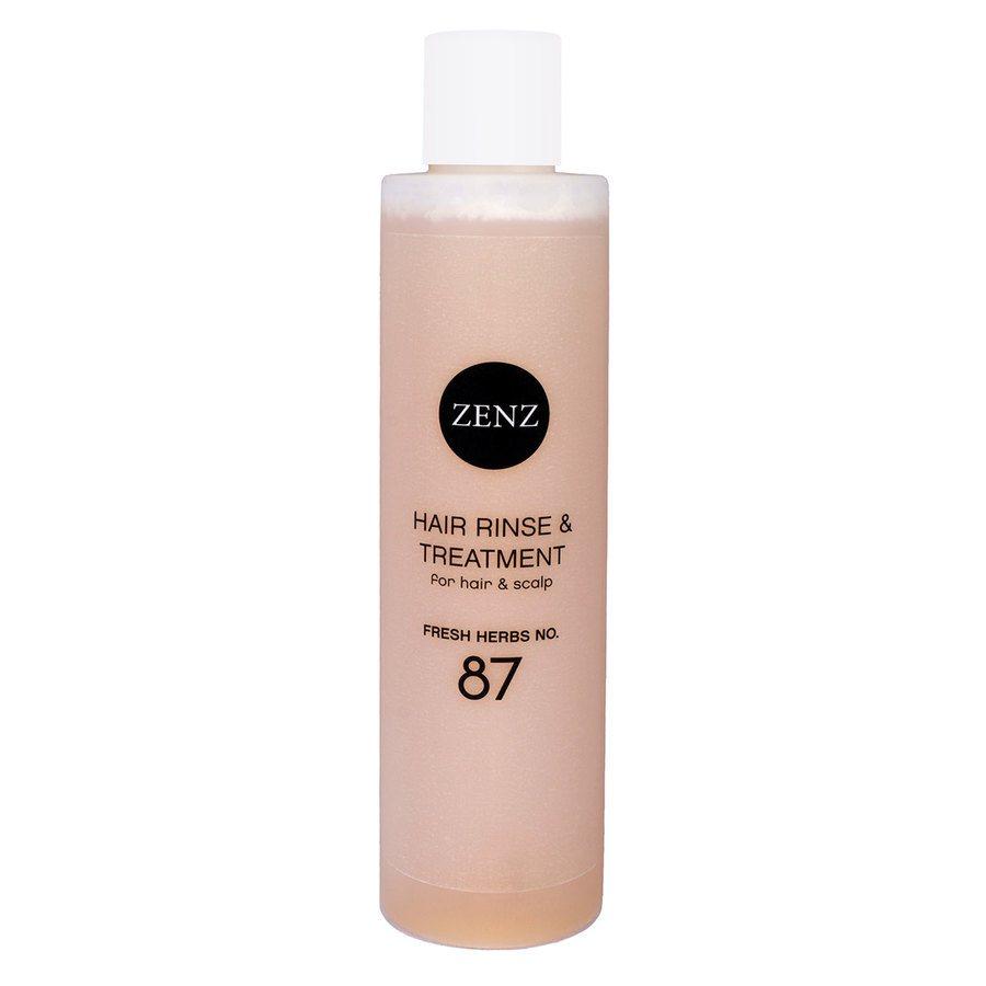 Zenz Organic No. 87 Hair Rinse & Treatment Fresh Herbs 200 ml
