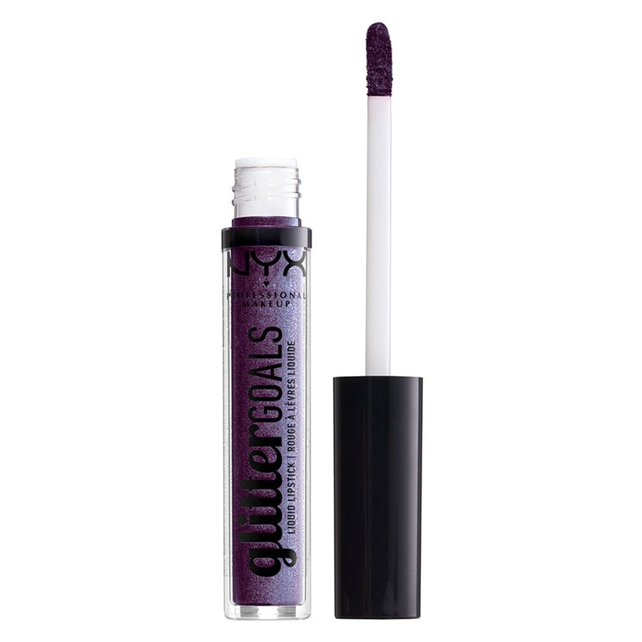 NYX Professional Makeup Glitter Goals Liquid Lipstick 07 Amethyst Vibes 3ml