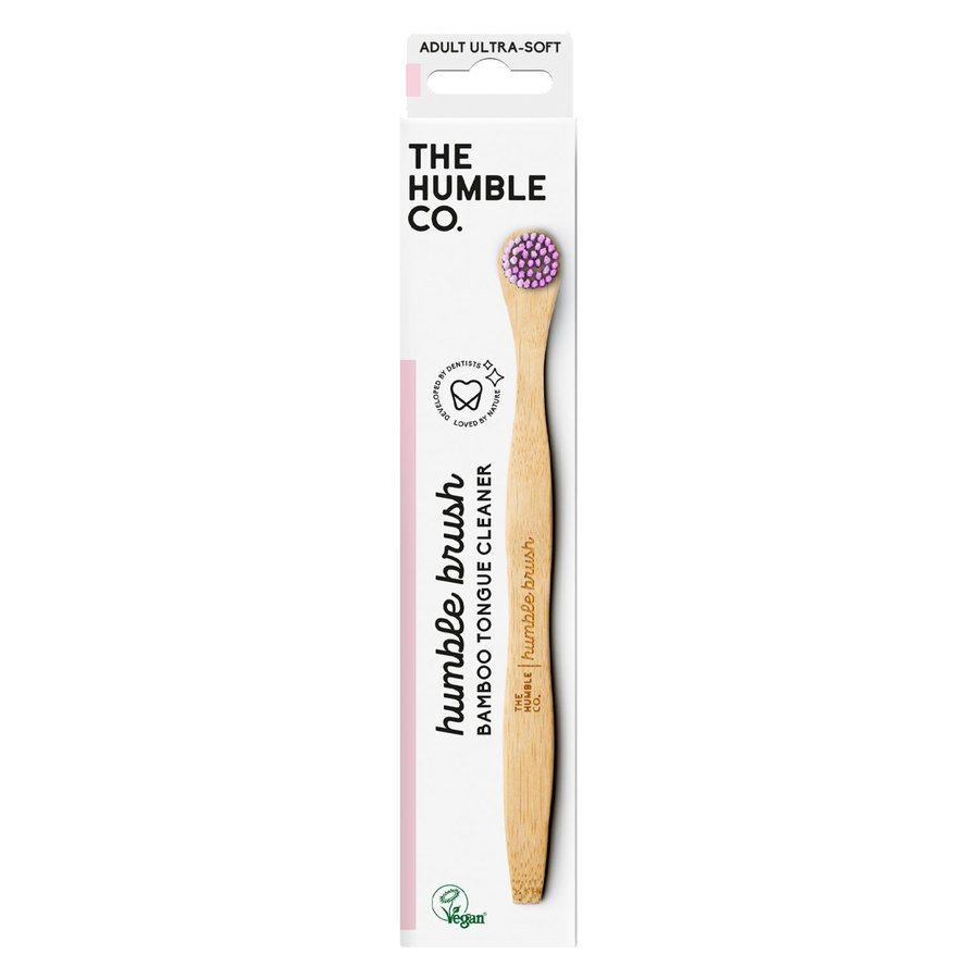 The Humble Co Humble Tongue Scraper Purple Ultra Soft