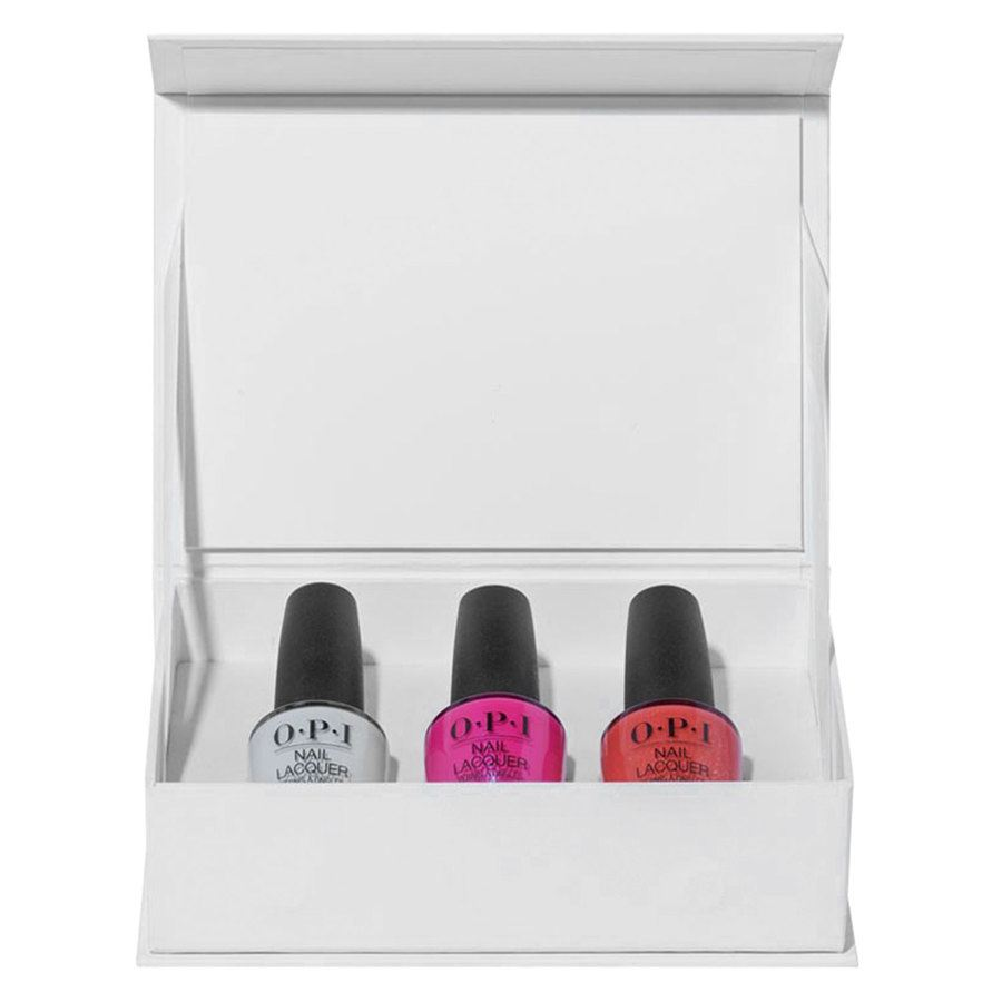 OPI Mexico City Nail Lacquer Trio Pack 3x3,75ml