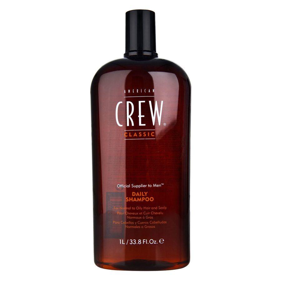 American Crew Daily Shampoo för män 1000 ml